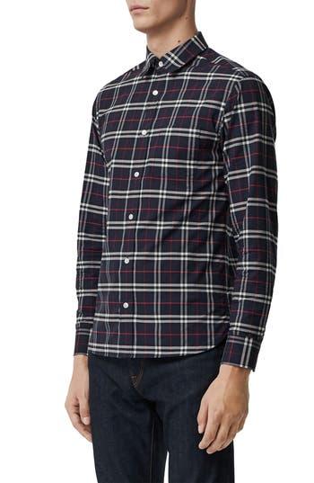 Burberry George Check Sport Shirt