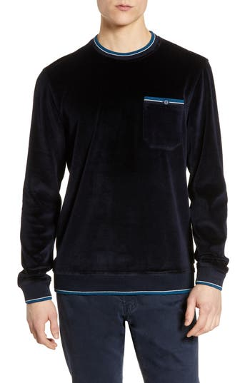 Ted Baker London Velour Pocket Sweatshirt