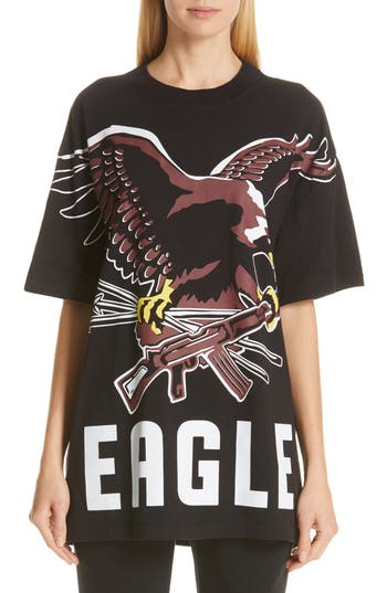 Vetements Eagle Print Tee