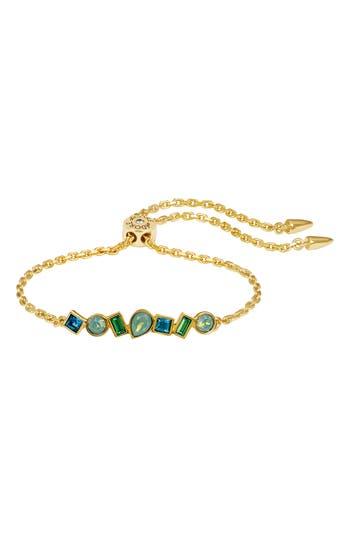ADORE Mixed Crystal Bar Slide Bracelet