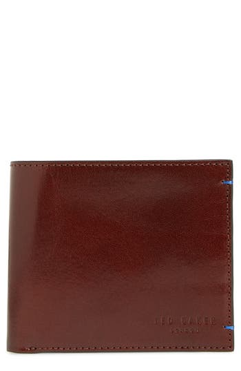Ted Baker London Contrast Leather Wallet