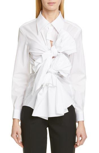 Comme des Garçons Tie Front Shirt