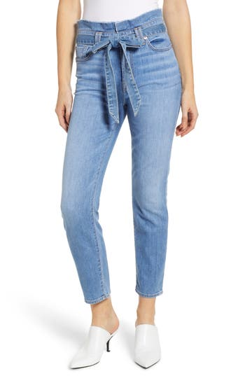 7 For All Mankind® Paperbag Waist Jeans