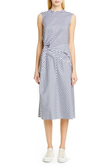 Tricot Comme des Garçons Multistripe Sleeveless Dress