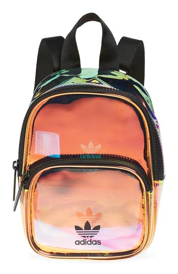 adidas Ori Mini Holographic Clear Backpack