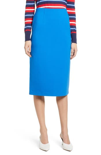Halogen® Ponte Pencil Skirt