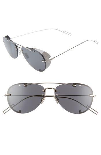 Dior Homme 59mm Aviator Sunglasses