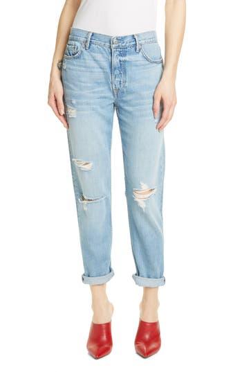 GRLFRND Olivia Ripped Boyfriend Jeans (Double Take)