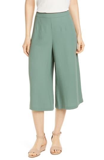 Eileen Fisher Silk Culottes