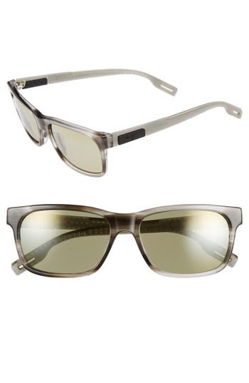Maui Jim Eh Brah 55Mm Polarizedplus2 Sunglasses - Light Charcoal/ Maui Ht