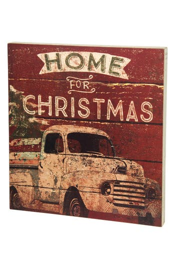 Primitives By Kathy Home For Christmas Box Sign