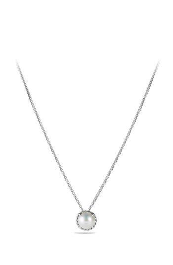 Women's David Yurman'Châtelaine' Pendant Necklace