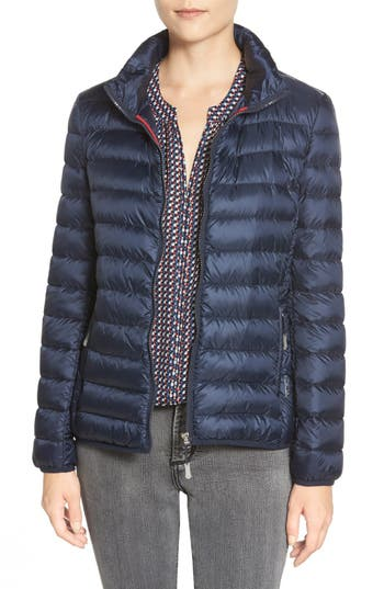 Tumi Pax On The Go Packable Quilted Jacket, Blue