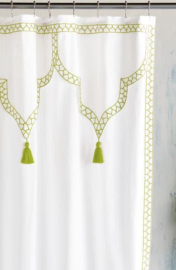 John Robshaw Iswar Shower Curtain, Size One Size - Green