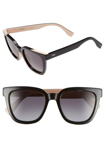 Women's Fendi 51Mm Sunglasses -