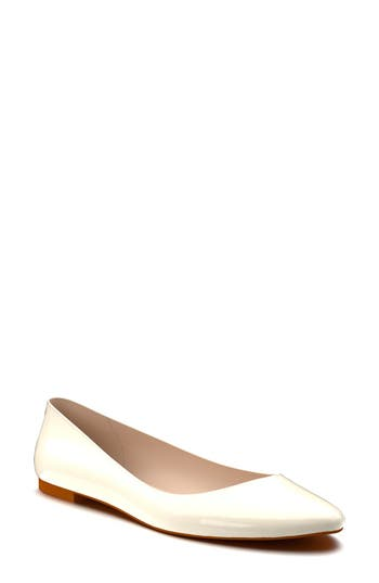 Shoes Of Prey Ballet Flat A - Ivory