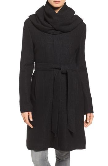 Black Belted Coat   Nordstrom