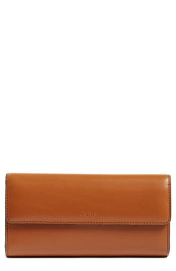 Women's Lodis Audrey Rfid Leather Checkbook Clutch Wallet -