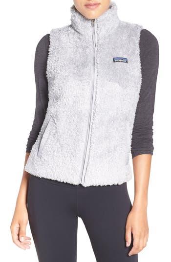 Women's Patagonia Los Gatos Fleece Vest, Size X-Small - Grey