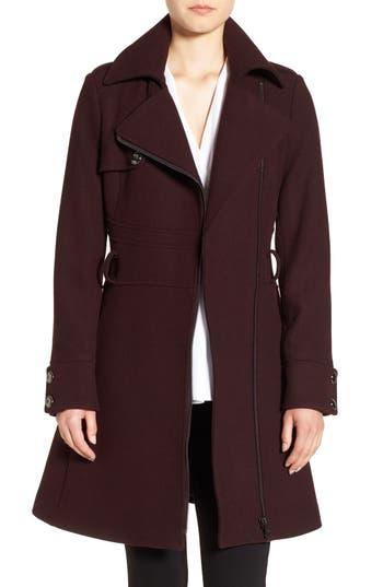 Women's Catherine Catherine Malandrino Fit & Flare Coat