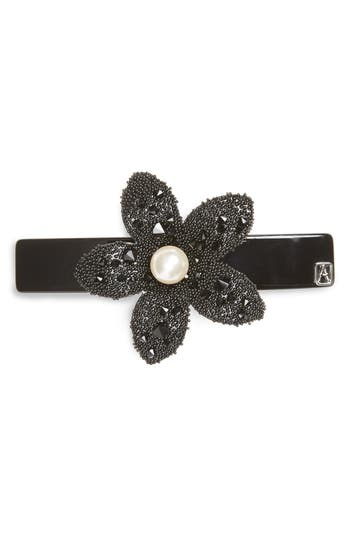 Alexandre De Paris 'Flower & Strass' Barrette