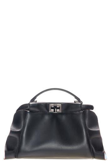 Fendi 'Mini Peekaboo - Wave' Leather Bag -