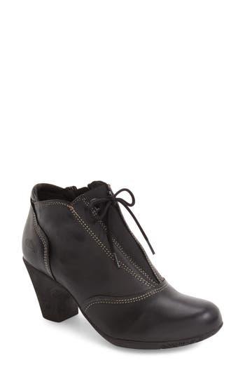 Women's Cloud Jace Zip Bootie, Size 5US / 35EU - Black
