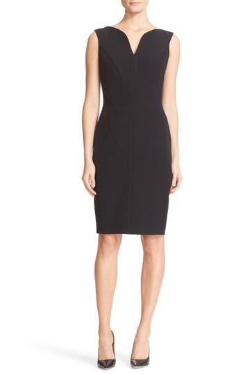 Women's Milly Italian Cady Sheath Dress
