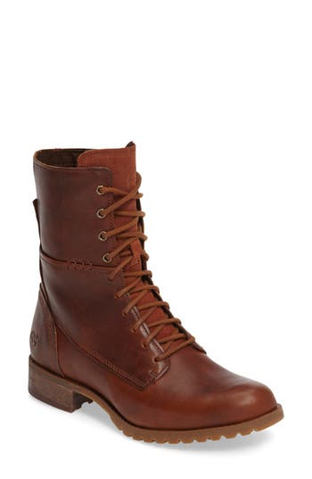 Women's Timberland Banefield Military Boot, Size 6 M - Brown