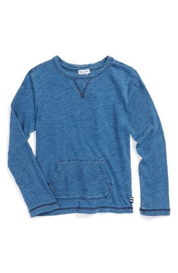 Boys Splendid Indigo Slub Cotton Jersey Pullover