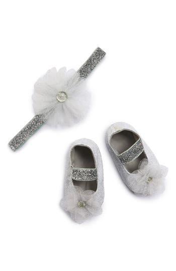 Plh Bows  Laces Tutu Flower Glitter Headband  Crib Shoes