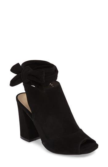 Kristin Cavallari Leeds Peep Toe Bootie- Black
