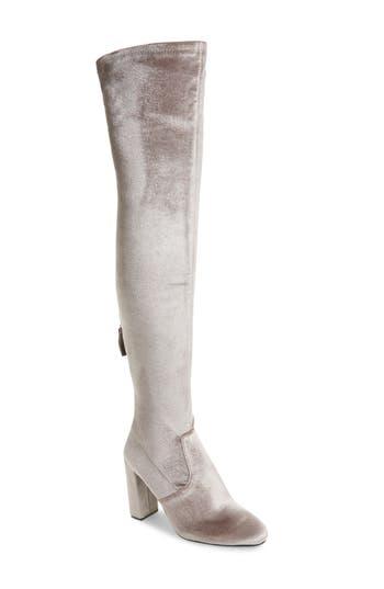 Steve Madden Emotionv Over The Knee Boot- Grey