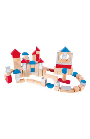 Toddler Hape Metropolitan Wooden Blocks Set