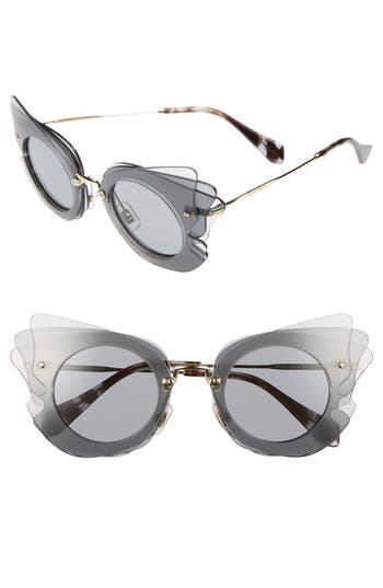 Miu Miu 6m Layered Butterfly Sunglasses -