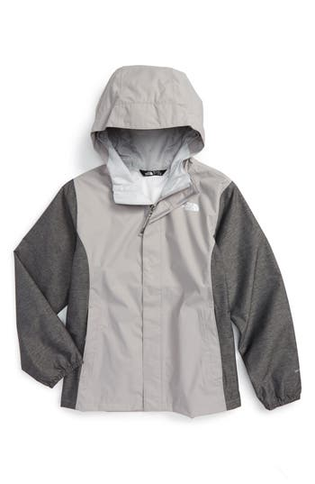 Girl's The North Face 'Resolve' Reflective Waterproof Jacket