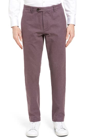 Men's Ted Baker London Roynew Classic Fit Trousers