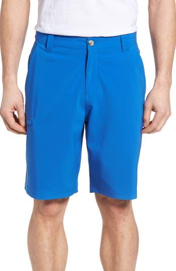 Men's Columbia Pfg Grander Marlin Ii Shorts, Size 30 - Blue