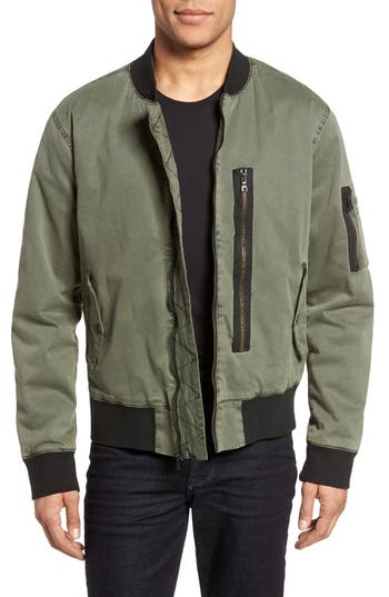 Hudson Jeans Knox Twill Bomber Jacket