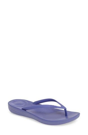 Women's Fitflop Iqushion Flip Flop, Size 8 M - Purple