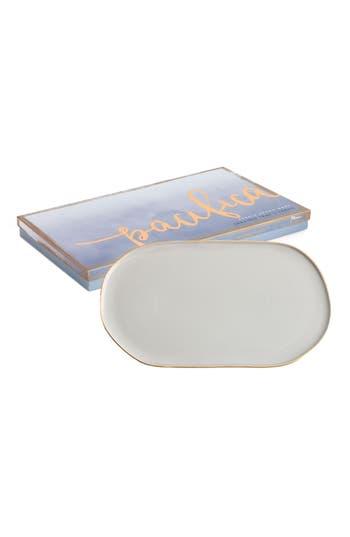 Rosanna Pacifica Porcelain Trinket Tray