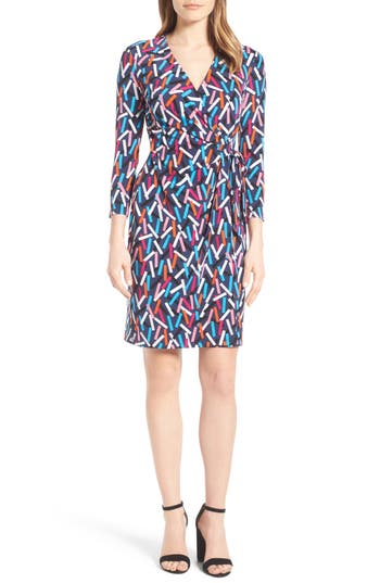 Women's Anne Klein Print Wrap Dress