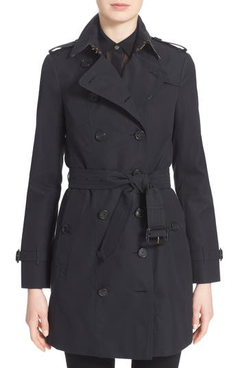 Burberry Sandringham Mid Slim Trench Coat