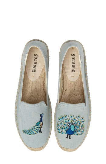 Soludos Peacock Espadrille Loafer