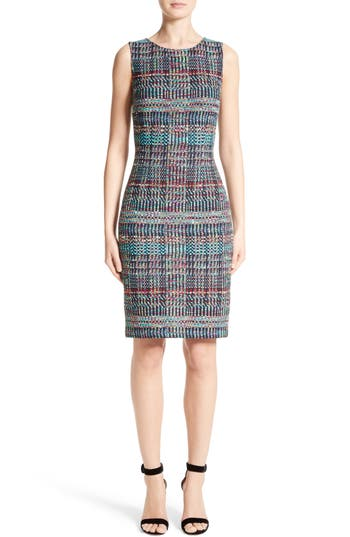 St. John Collection Dara Knit Sheath Dress