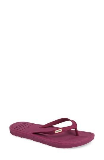 Hunter Original Flip Flop, Purple