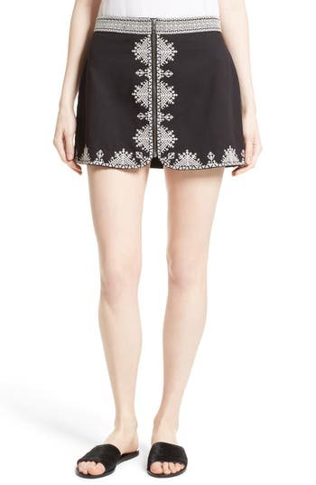 Women's Joie Genovefa Embroidered Skirt