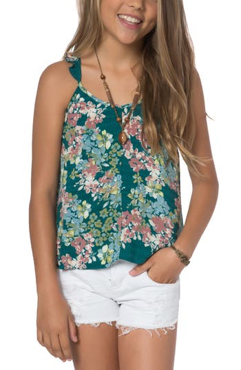 Girl's O'Neill Jessica Floral Tank