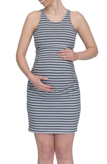 Modern Eternity Maternity/nursing Tank Dress, Black