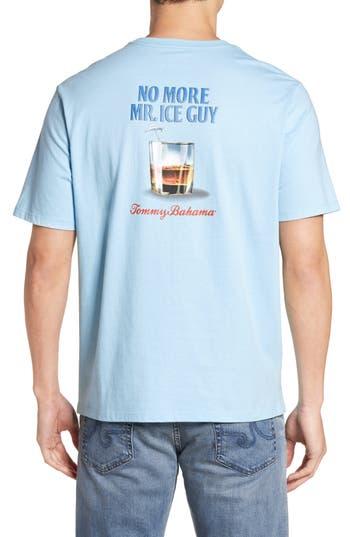Big & Tall Tommy Bahama Mr. Ice Guy T-Shirt - Blue